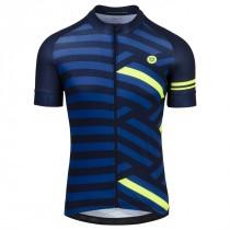 AGU amaze maillot de cyclisme à manches courtes rebel bleu