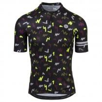 AGU flash maillot de cyclisme à manches courtes noir