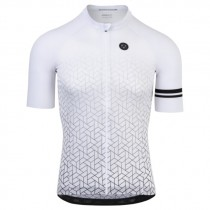 AGU high summer maillot de cyclisme à manches courtes blanc