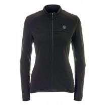 Agu essential thermo maillot de cyclisme manches longues femme noir