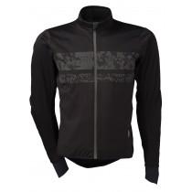 Agu pro wind hivis veste de cyclisme noir