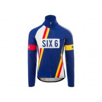 Agu six6 pnsc veste coupe vent bleu