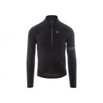 Agu premium woven maillot de cyclisme manches longues noir