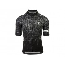 Agu pulse maillot de cyclisme manches courtes noir