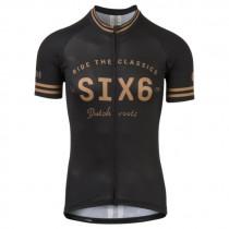 AGU six6 maillot de cyclisme à manches courtes noir
