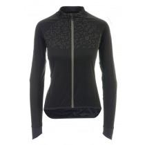 Agu pro wind hivis veste de cyclisme femme noir