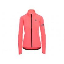 Agu prime veste impermeablé neon coral rose
