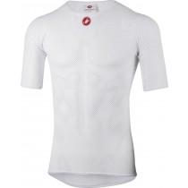 Castelli core mesh 3 vêtement manches courtes blanc