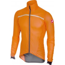 Castelli superleggera veste coupe-vent orange