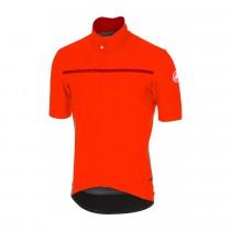 Castelli gabba 3 maillot de cyclisme manches courtes orange