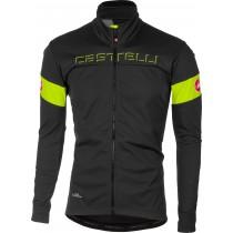Castelli transition veste de cyclisme foncé gris fluo jaune
