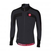 Castelli transparante 4 maillot de cyclisme manches longues noir clair
