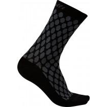 Castelli sfida 13 chaussettes de cyclisme femme anthracite noir