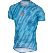 Castelli pro mesh sous-vêtement manches courtes sky bleu