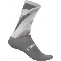 Castelli geo 15 chaussettes de cyclisme gris