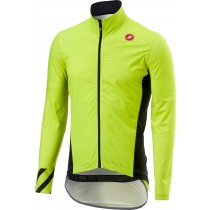 Castelli pro fit light veste de imperméable fluo jaune