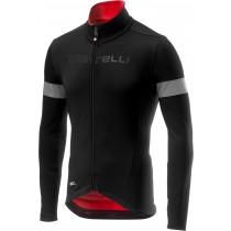 Castelli nelmezzo RoS maillot de cyclisme manches longues noir rouge