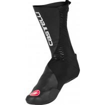 Castelli ros couvre chaussure noir