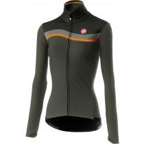 Castelli mitica w veste de cyclisme femme forest gris