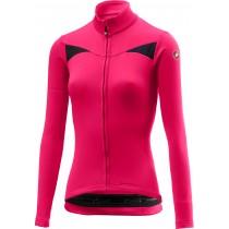 Castelli sinergia maillot de cyclisme manches longues femme electric magenta