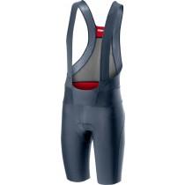 Castelli premio 2 cuissard de cyclisme courtes à bretelles dark steel bleu
