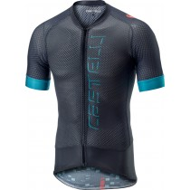 Castelli climber's 2.0 maillot de cyclisme manches courtes gris foncé