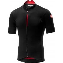 Castelli espresso maillot de cyclisme manches courtes noir rouge