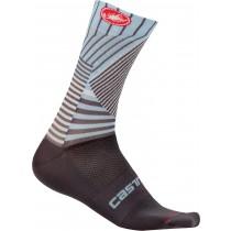 Castelli pro mesh 15 chaussures de cyclisme gris foncé dusk blue