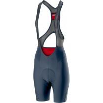 Castelli premio 2 cuissard de cyclisme courtes à bretelles femme steel bleu foncé