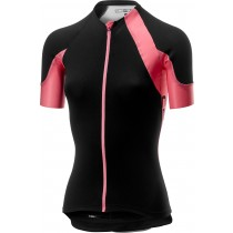 Castelli scheggia 2 maillot de cyclisme manches courtes femme noir rose