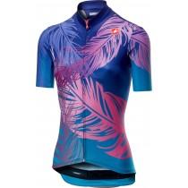 Castelli tabula rasa maillot de cyclisme manches courtes femme piuma violet