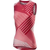 Castelli pro mesh vêtement sans manches femme salmon rose