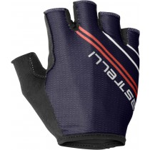 Castelli dolcissima 2 gants de cyclisme femme steel bleu foncé salmon rose