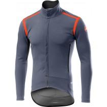 Castelli perfetto RoS maillot de cyclisme à manches longues steel bleu foncé