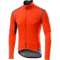 Castelli perfetto RoS convertible veste de cyclisme orange