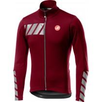 Castelli raddoppia 2 veste de cyclisme matador rouge
