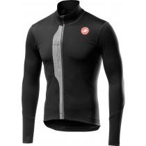 Castelli trasparente V maillot de cyclisme à manches longues noir clair