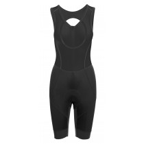 Agu essential prime cuissard de cyclisme à bretelles court femme noir