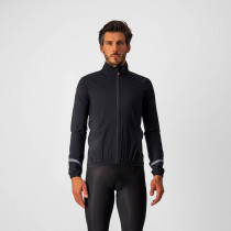 Castelli Emergency 2 Rain Jacket - Light Black
