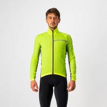 Castelli Squadra Stretch Jacket - Yellow Fluo/Dark Gray