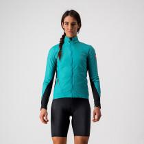 Castelli Unlimited W Puffy Jacket Turquoise Black