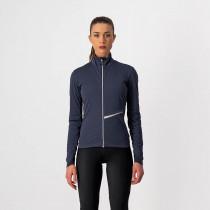 Castelli Go W Jacket - Dark Steel Blue/Soft Pink