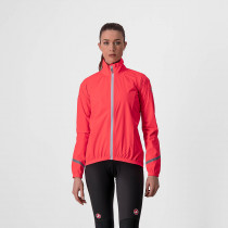 Castelli Emergency 2 W Rain Jacket - Brilliant Pink