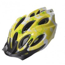 ABUS Kids Helm Chaox zoom Hibiscus Lime