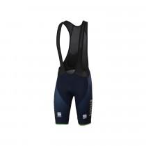 Sportful Bahrain Merida bodyfit pro classic cuissard de cyclisme à bretelles court bleu