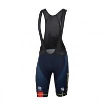 Sportful Bahrain Merida bodyfit classic cuissard de cyclisme courtes à bretelles bleu 2019