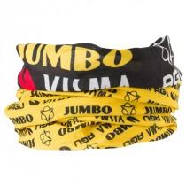 Agu Jumbo-Visma neck tube sjaal geel zwart 2019