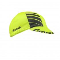 GripGrab lightweight summer fietspet hi-vis geel
