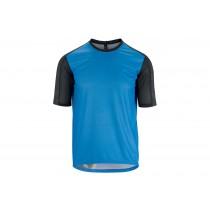 Assos trail maillot de cyclisme manches courtes corfu bleu