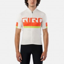 GIRO Chrono Expert Jersey Logo Flame Orange